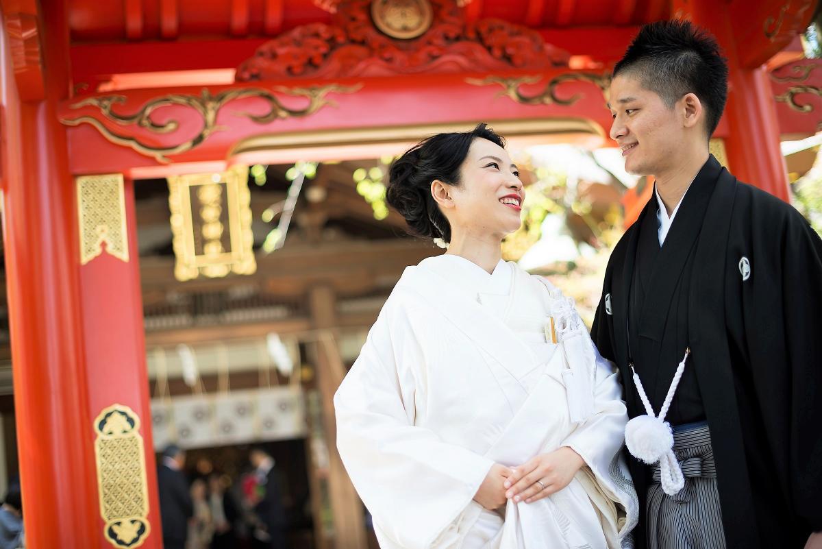 「愛宕神社」での神前式※神社での挙式も完全サポート致します
