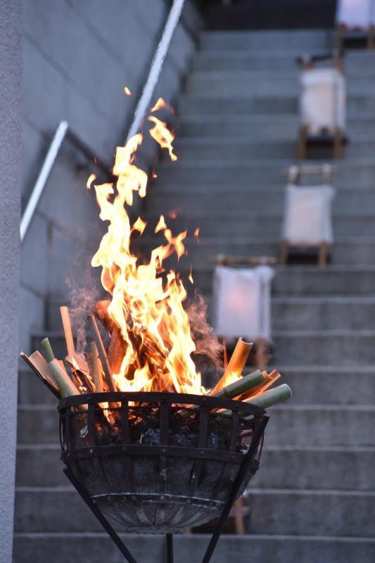 【神社挙式/芝大神宮】篝火挙式(11月中旬~2月中旬)