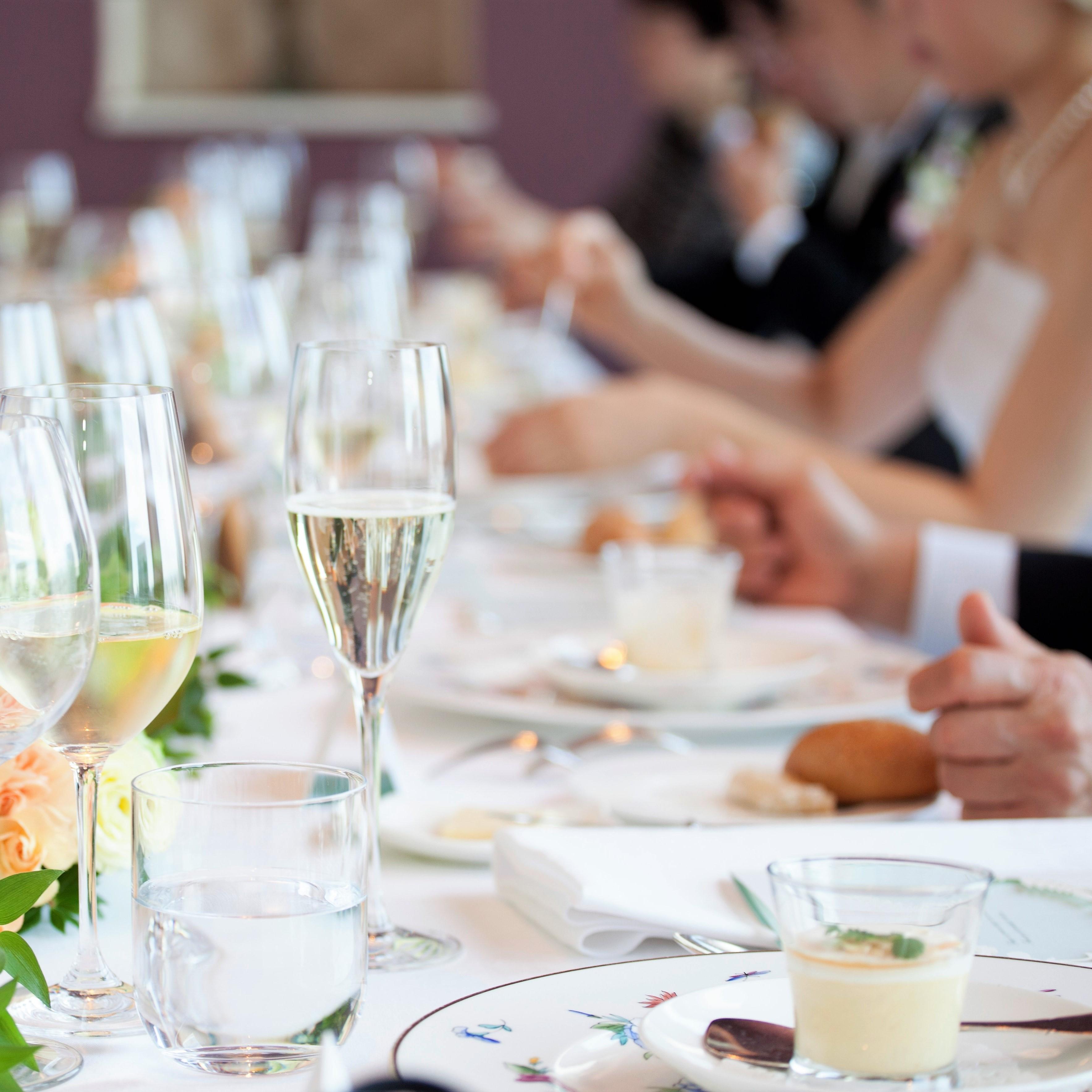 婚姻式×少人数会食プラン