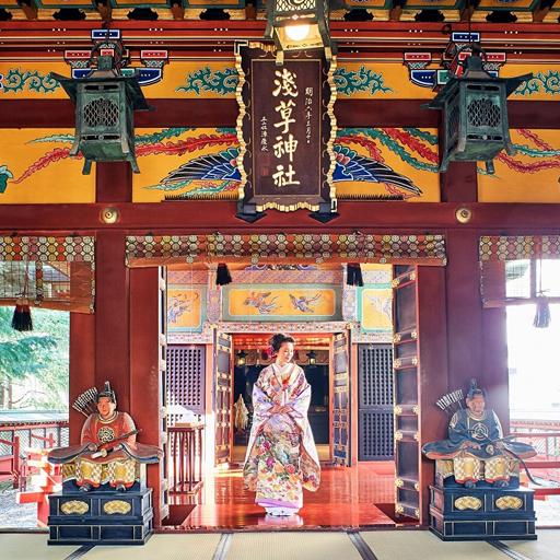 浅草神社×櫻茶ヤプラン