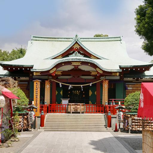 亀戸天神社×櫻茶ヤプラン