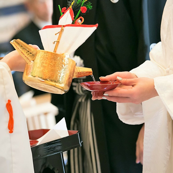 神社挙式 × 少人数会食プラン